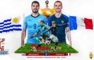 Tỷ lệ cược, kèo Uruguay vs Pháp 21h00 ngày 06/07 World Cup 2018