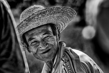 Chinese smile