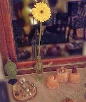Bloemlezing van de gele bloem