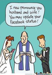 Gewoonte van mobiele telefoon en social media