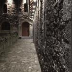 Umgesetzte Beleuchtung Kloster Ilsenburg