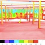 DIALux Simulation einer Werkhalle in Wernigerode