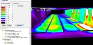 DIALux Simulation Brücke in Oker