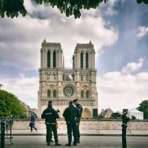 Am Tag davor - da war Notre Dame noch ein nomales Touristenmotiv