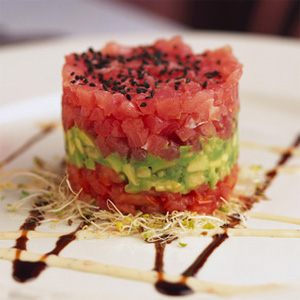 Tuna Tartare, one of my most loved dishes