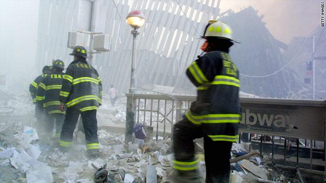 First Respnoders at Ground Zero