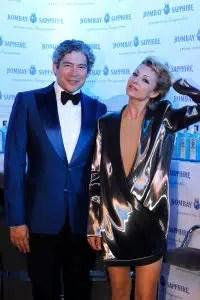 Boris Izaguirre y Najwa Nimri