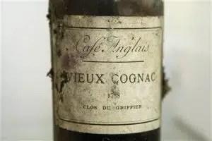 Cliente Rompe botella de Cognac de 1788
