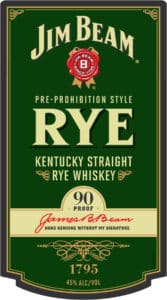 Jim Beam Pre-Prohibition Rey Whiskey