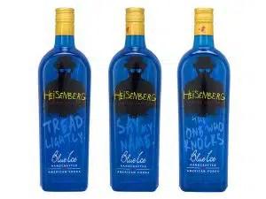 Vodka Azul inspirado en la serie Breaking Bad