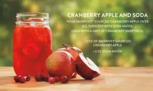 Vodka Smirnoff Sourced Cranberry Apple