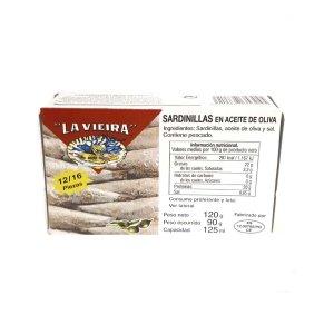 Sardinas en Aceite de Oliva