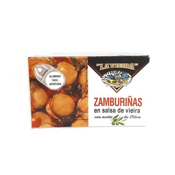 Zamburiñas La Vieira