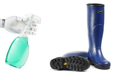 Cómo cuidar y limpiar tus botas de agua o katiuskas