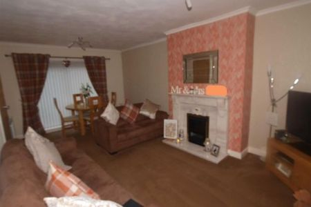 3 bed end terrace house for sale in Fern Drive  Dudley  Cramlington         Lounge Cont  x27 d of Fern Drive  Dudley