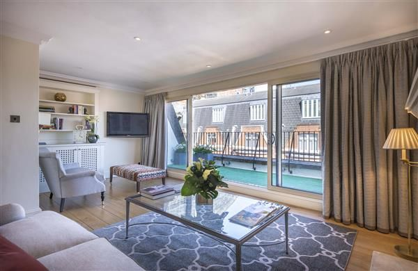 Living Room Of The Capital Apartments Basil Street London Sw3