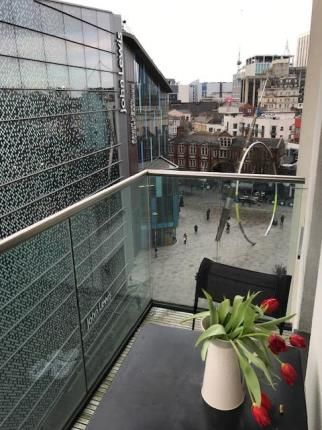 Balcony Of Hayes Apartments The Cardiff Caerdydd Cf10