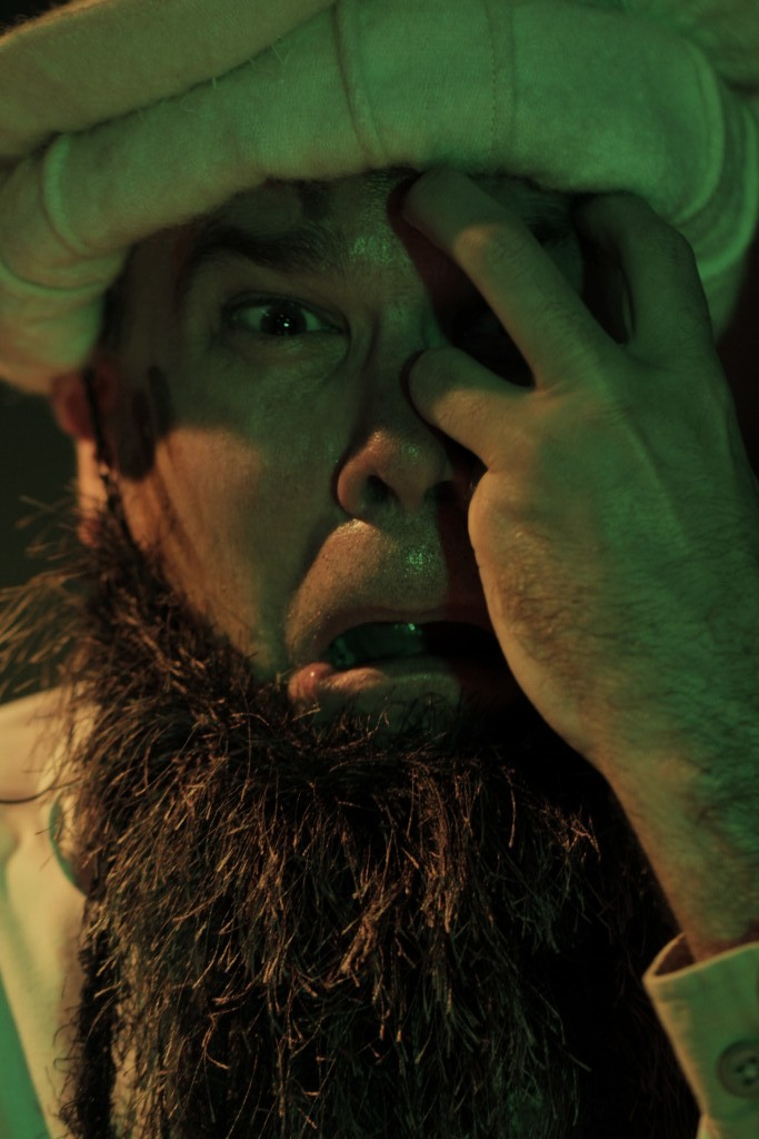 Dan O'Neill (Osama Bin Ladin). Photo by Ryan Gaddis (2011)