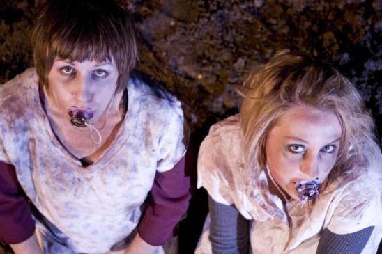 Janna Meiring (Zosia) & Kelleen Shadow (Daga). Photo Erin Preston (2010).