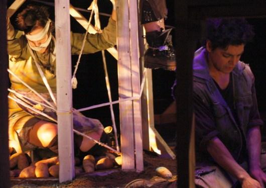 Trina Magness (Ma) & Lorenzo Sariñana (Boy). Photo Erin Preston (2010).
