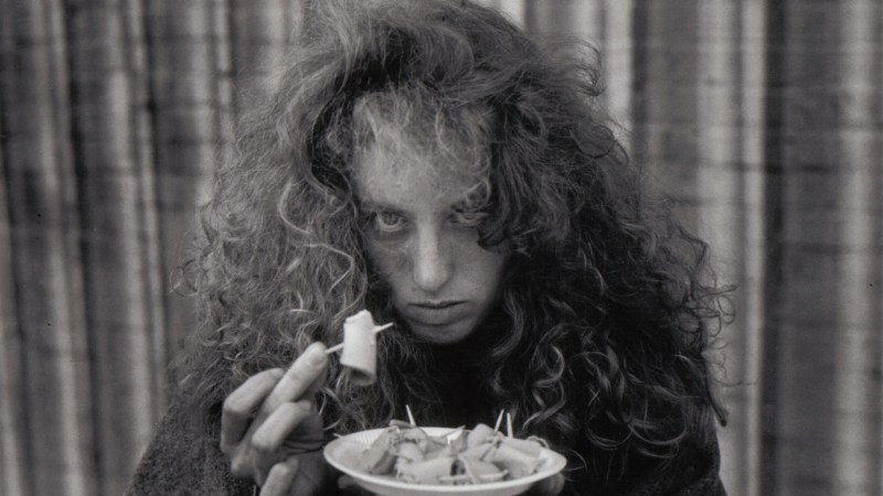 Tainted Pavement (1995). Pictured: Renée Goldberg.