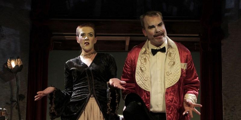 Trina Magness and Dan O'Neill in Auto da Fé  (2012)