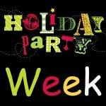 Holiday Party Week Photos