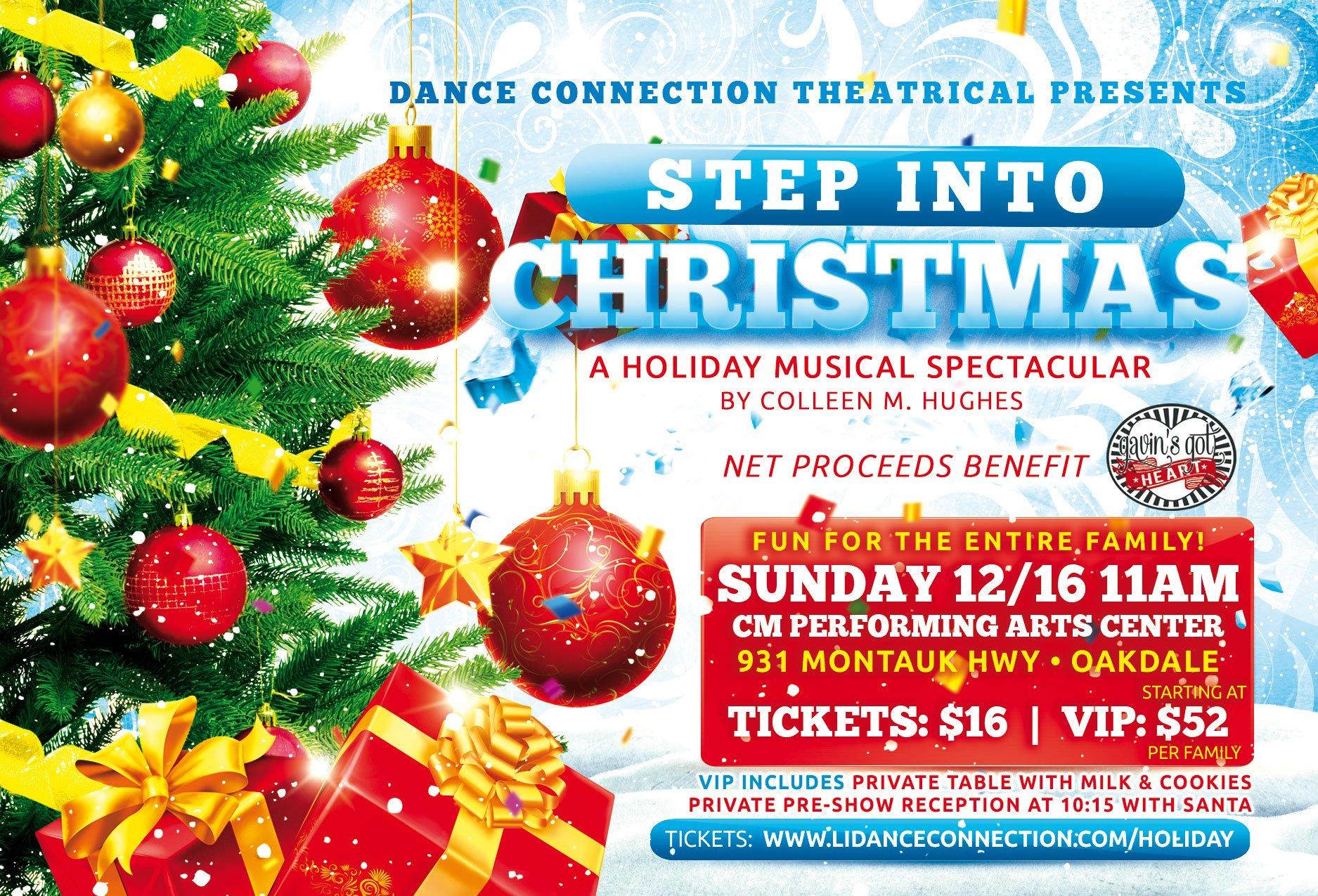 Step Into Christmas.Step Into Christmas