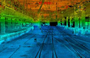 point cloud Mobile Surveying NYPS