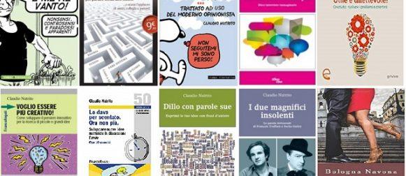 """Da """"Sono modesto e me ne vanto"""" a Bologna Navona"""", un autore dello stimolo intellettuale si prova in un romanzo e convince. Intervista esclusiva a Claudio Nutrito."""