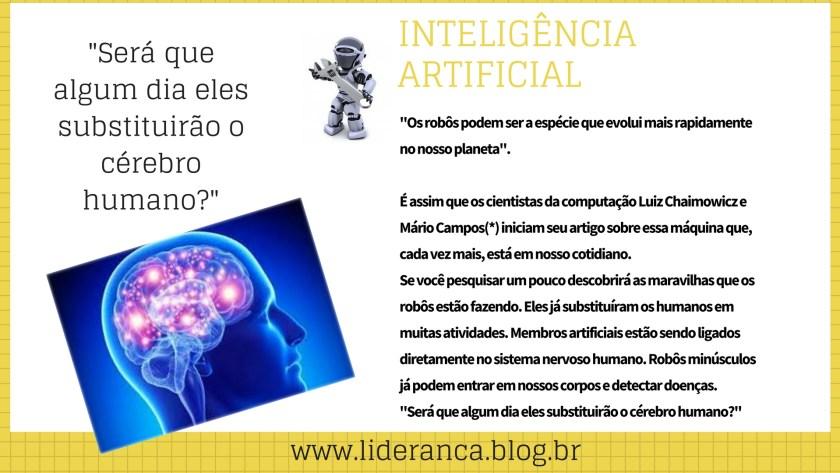 inteligência artificial mudamos a liderança