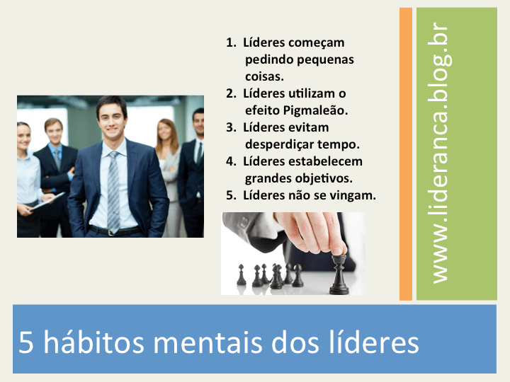 hábitos mentais dos líderes