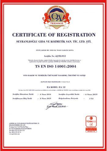 İSO14001-BELGEMİZ