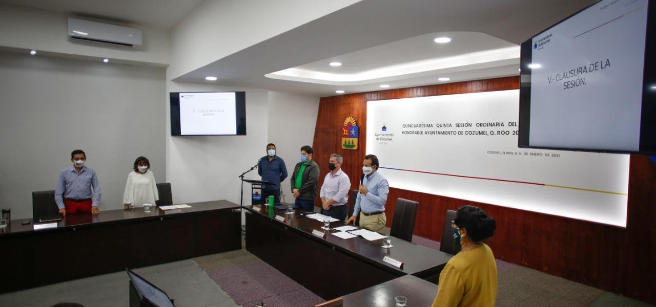 Con la ampliación del paquete de facilidades y estímulos fiscales, cumplirá Gobierno de Pedro Joaquín un año de apoyo a la economía de la gente de Cozumel
