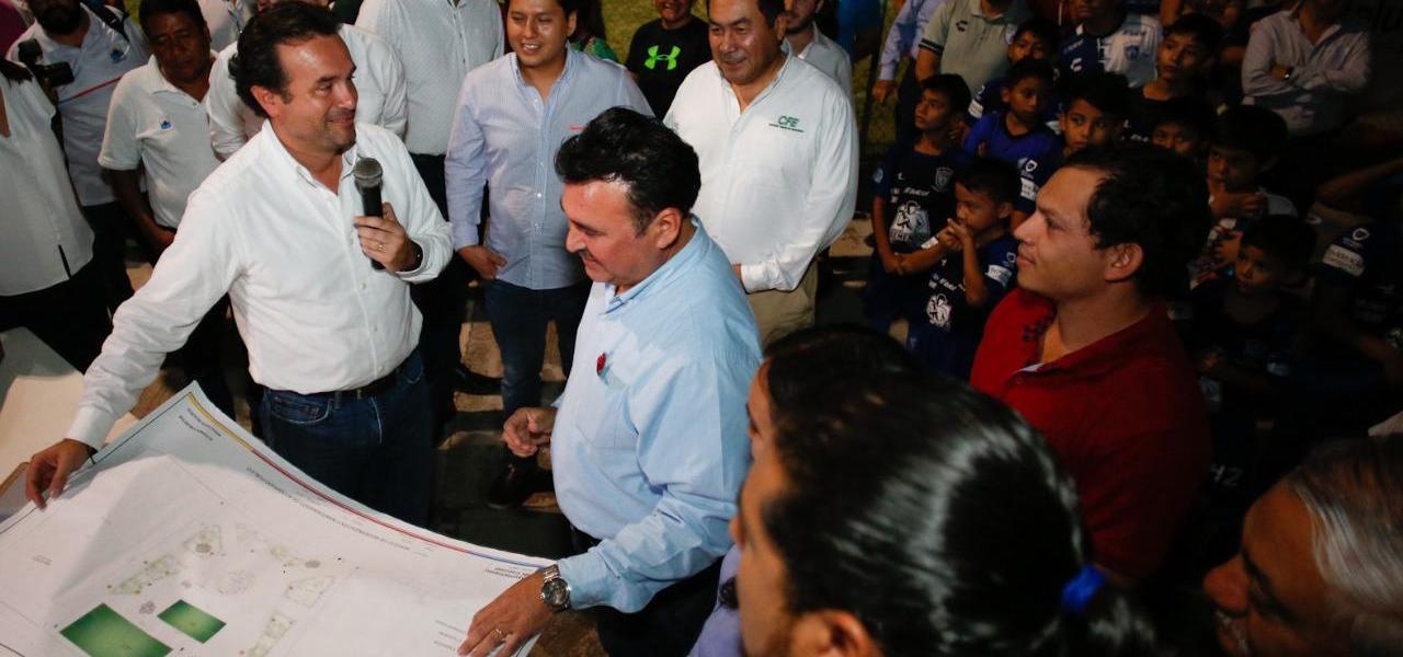 Emprende gobierno de Pedro Joaquín obras de modernización de 3 mil luminarias en Cozumel