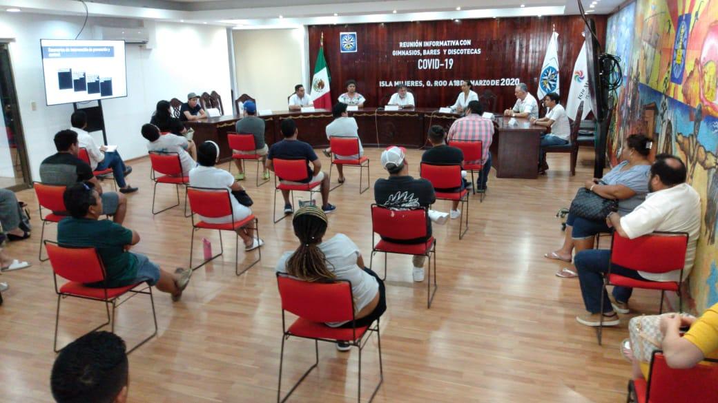 REFUERZA MUNICIPIO DE ISLA MUJERES MEDIDAS CONTRA EL CORONAVIRUS