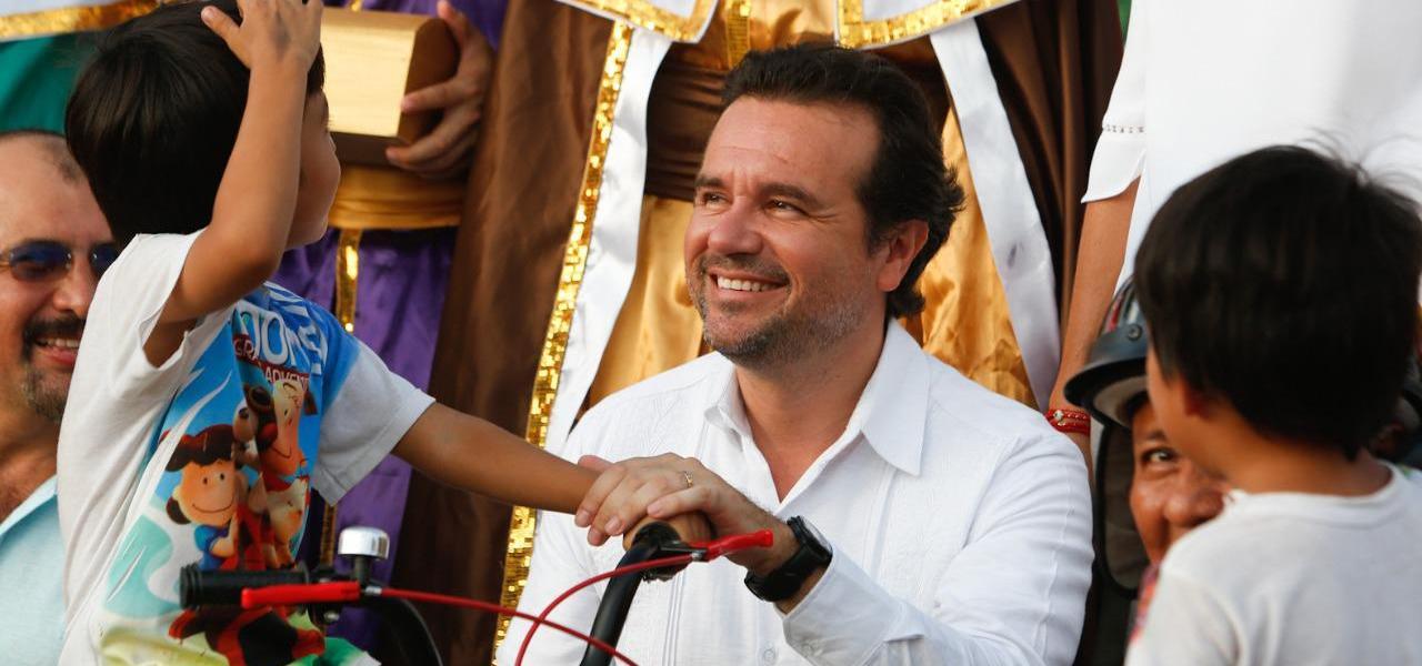 Refuerza Pedro Joaquín acciones para el sano esparcimiento de niñas y niños en Cozumel