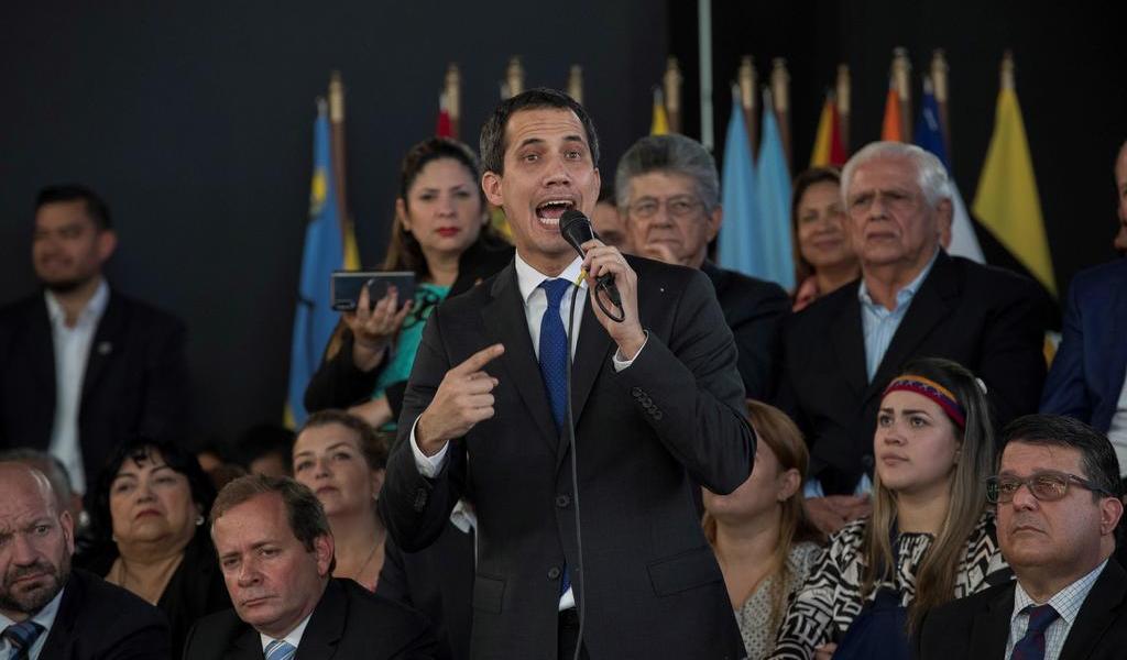 Respaldan a Guaidó como jefe de la AN