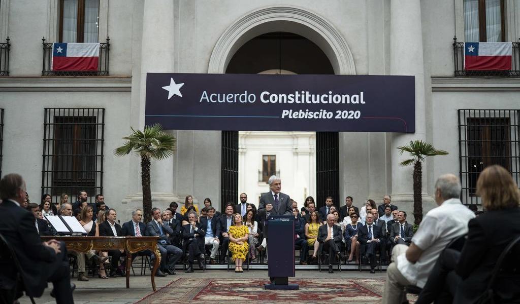 Comienza Chile a definir posturas sobre histórico plebiscito constitucional