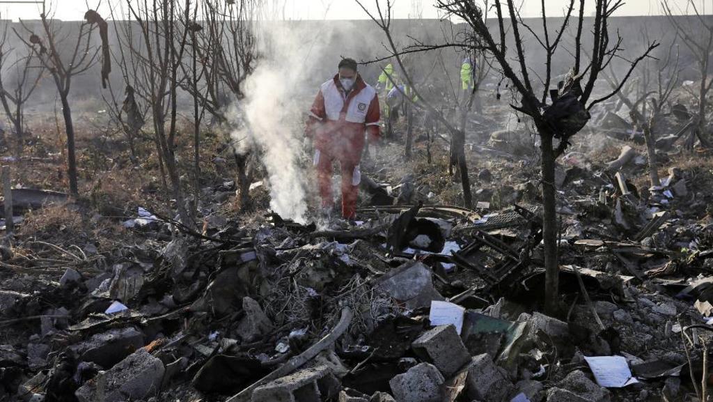 Irán enviará caja negra de avión caído a Ucrania