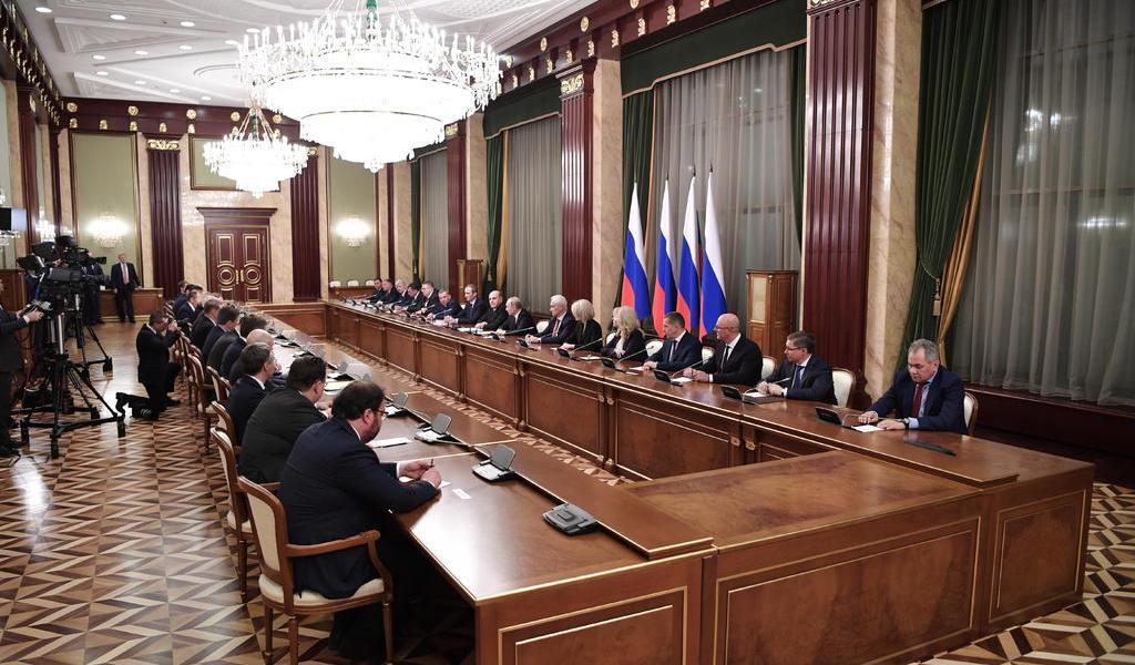 Revoluciona Putin el Gobierno ruso