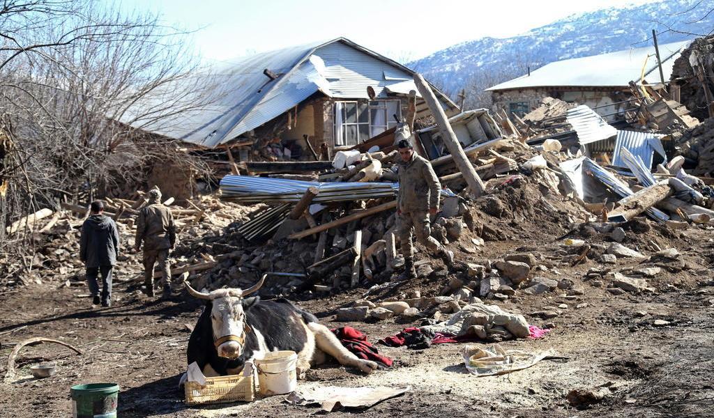 Concluye operación de rescate tras sismo en Turquía; suman 41 muertos