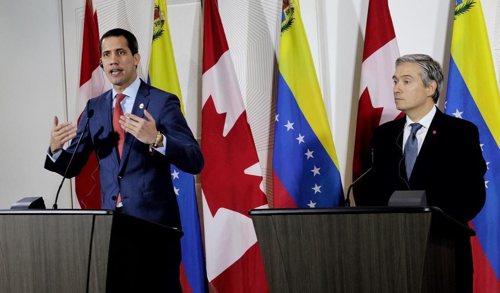 Busca Guaidó apoyo en Canadá