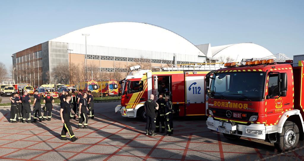 Aeropuerto de Madrid prepara aterrizaje de emergencia por falla en avión de Air Canada