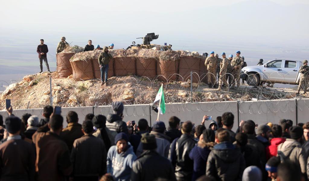 Fuerzas sirias intensifican ofensiva