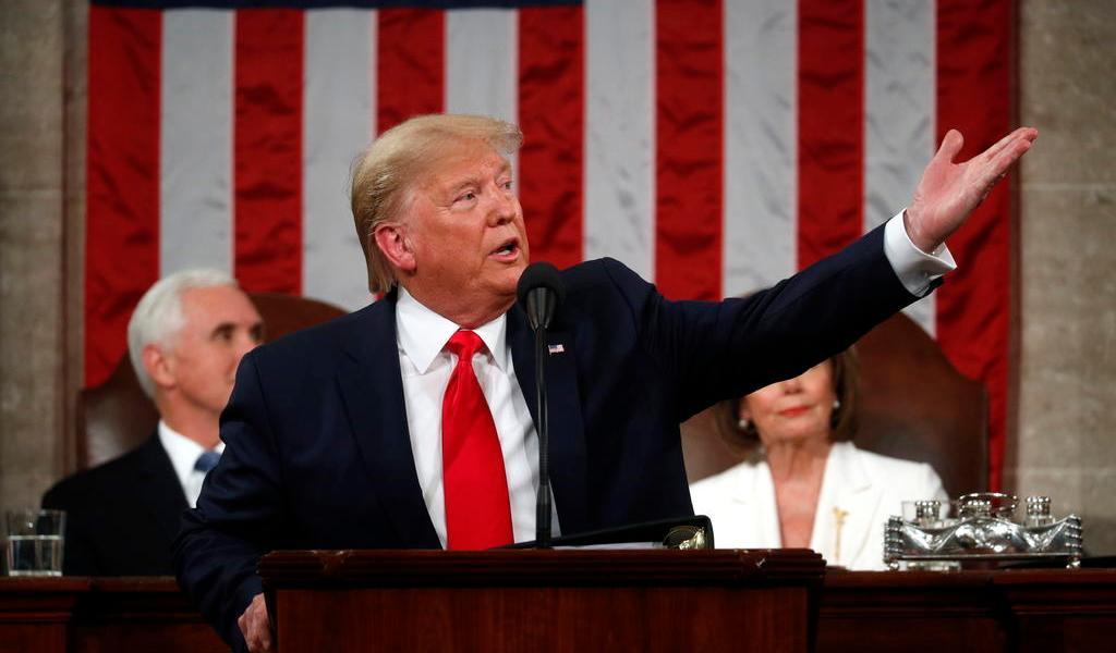 Trump asegura que para el próximo año el muro tendrá más de 800 kilómetros