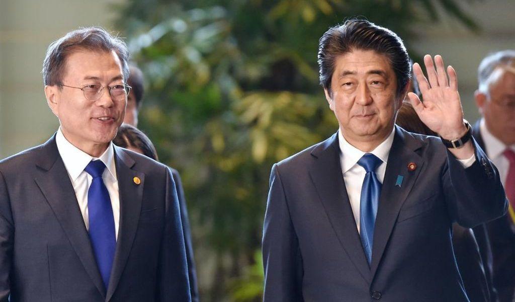 Surcorea y Japón celebrarán diálogos