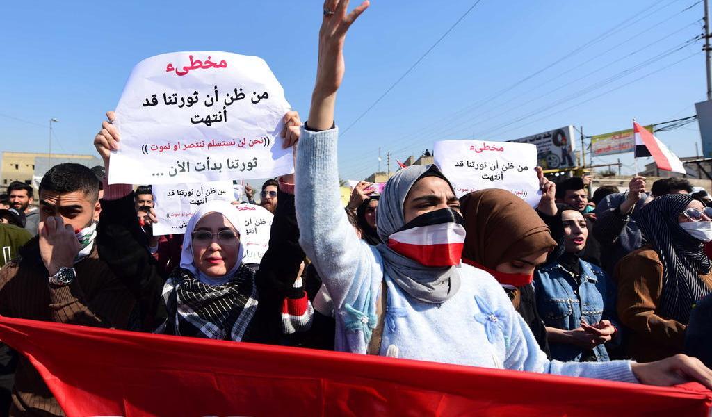 Casi 550 personas han muerto desde el inicio de las protestas en Irak