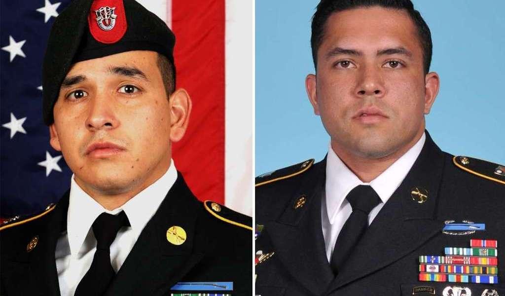 Soldados muertos eran latinos