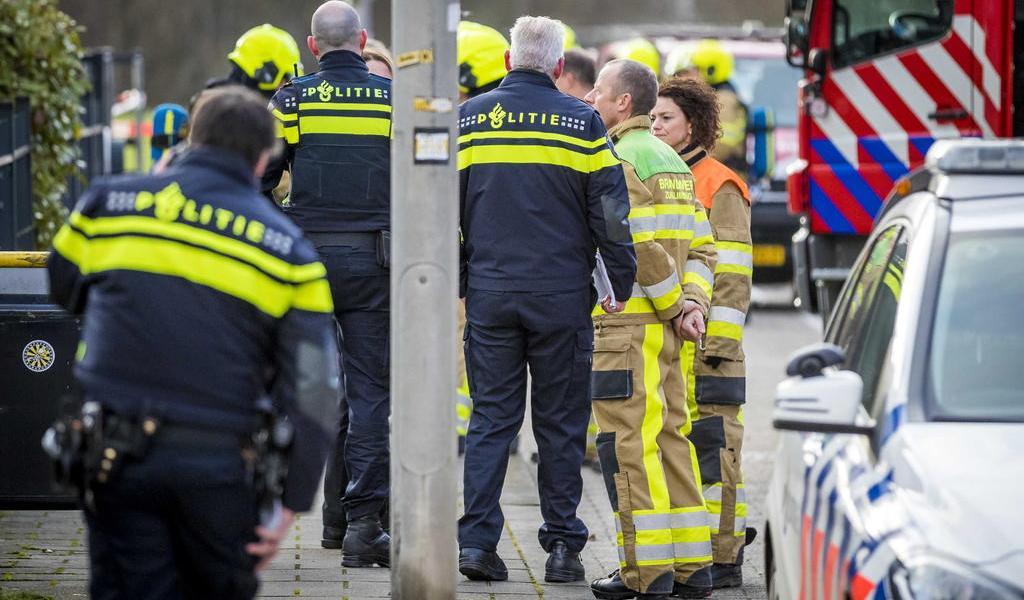 Estallan dos paquetes bomba enviados a dos empresas holandesas